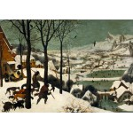 Puzzle  Grafika-00625 Brueghel : Hunters in the Snow
