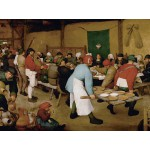Puzzle  Grafika-00626 Brueghel : Peasant Wedding, 1567-1568