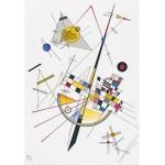 Puzzle  Grafika-00632 Wassily Kandinsky : Delicate Tension, 1923