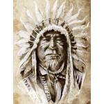 Puzzle  Grafika-00651 Indian Chief