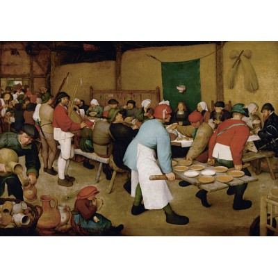 Puzzle Grafika-00679 Brueghel : Peasant Wedding, 1567-1568