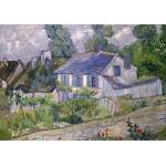 Puzzle  Grafika-00682 Van Gogh Vincent: Maison à Auvers, 1890