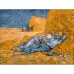Puzzle  Grafika-00689 Van Gogh Vincent: La Sieste (d'après Millet), 1890