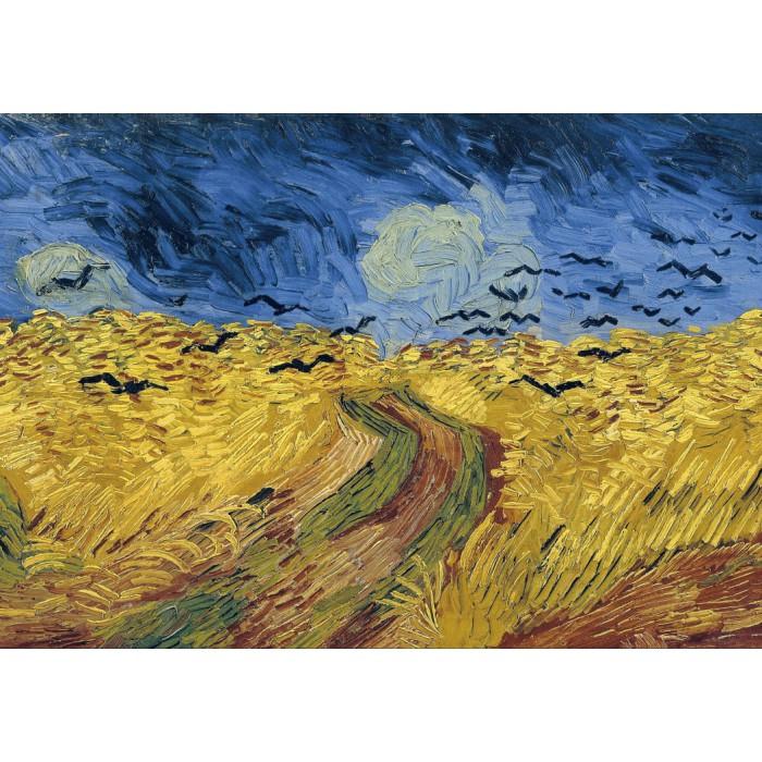 Van Gogh Vincent: Champ de Blé aux Corbeaux, 1890