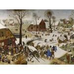Puzzle  Grafika-00695 Brueghel Pieter: Numbering at Bethlehem