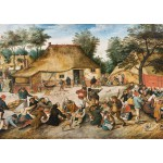 Puzzle  Grafika-00696 Brueghel: The Peasant Wedding, 1568