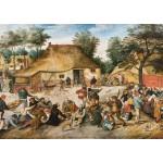 Puzzle  Grafika-00696 Brueghel: The Peasant Wedding, 1568