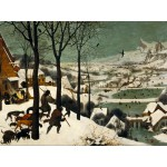 Puzzle  Grafika-00698 Brueghel : Hunters in the Snow