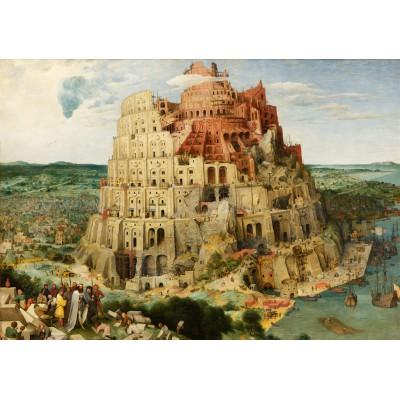 Puzzle Grafika-00703 Brueghel Pieter: Tower of Babel, 1563