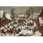 Puzzle  Grafika-00705 Brueghel Pieter: Massacre of the Innocents, 1566
