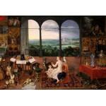 Puzzle  Grafika-00713 Jan Brueghel I & Peter Paul Rubens - Hearing (Museo del Prado)