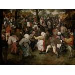 Puzzle  Grafika-00714 Brueghel Pieter: The Wedding Dance, 1566