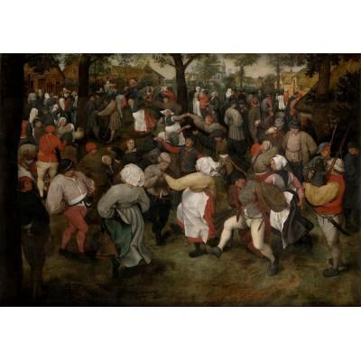Puzzle Grafika-00715 Brueghel Pieter: The Wedding Dance, 1566