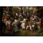 Puzzle  Grafika-00715 Brueghel Pieter: The Wedding Dance, 1566
