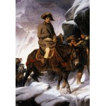 Puzzle  Grafika-00730 Paul Delaroche : Bonaparte Crossing the Alps, 1850