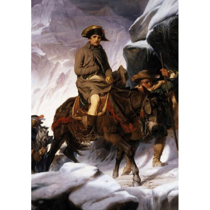 Paul Delaroche : Bonaparte Crossing the Alps, 1850