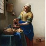 Puzzle  Grafika-00738 Vermeer Johannes: The Milkmaid, 1658-1661