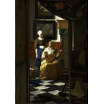 Puzzle  Grafika-00740 Vermeer Johannes: The Loveletter, 1669-1670