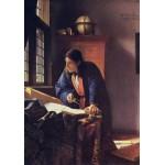 Puzzle  Grafika-00742 Vermeer Johannes: The Geographer, 1668-1669