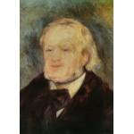 Puzzle  Grafika-00743 Renoir Auguste: Richard Wagner, 1882