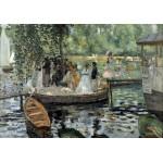 Puzzle  Grafika-00744 Auguste Renoir: La Grenouillère, 1869