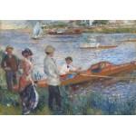 Puzzle  Grafika-00746 Renoir Auguste: Canoteurs à Chatou, 1879