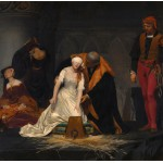 Puzzle  Grafika-00752 Paul Delaroche : The Execution of Lady Jane Grey, 1833