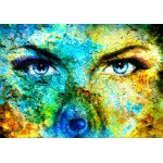 Puzzle  Grafika-00789 The Wolf Woman