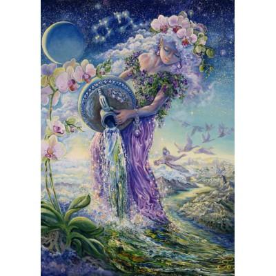 Puzzle Grafika-00811 Zodiac Sign - Aquarius