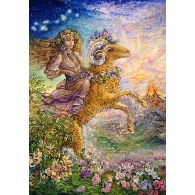 Puzzle Grafika-00813 Zodiac Sign - Aries