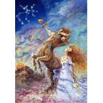 Puzzle  Grafika-00825 Zodiac Sign - Sagittarius
