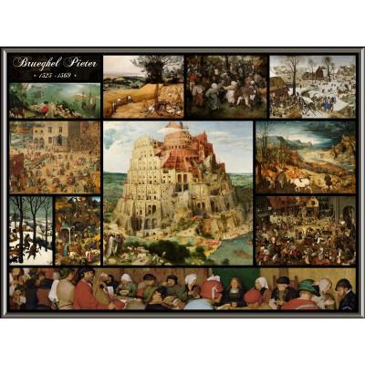 Puzzle Grafika-00835 Collage - Pieter Bruegel the Elder