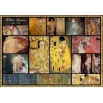 Puzzle  Grafika-00838 Collage - Gustav Klimt