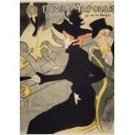 Puzzle  Grafika-00884 Henri de Toulouse-Lautrec: Divan Japonais, 1892-1893