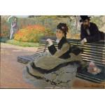 Puzzle  Grafika-00885 Claude Monet: Camille Monet, 1873