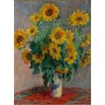 Puzzle  Grafika-00890 Claude Monet: Bouquet of Sunflowers, 1881