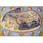 Puzzle  Grafika-00918 Claudius Ptolemy: The World, 1482