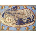 Puzzle  Grafika-00919 Claudius Ptolemy: The World, 1482
