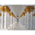 Puzzle  Grafika-01093 Sheikh Zayed Mosque in Abu Dhabi, United Arab Emirates