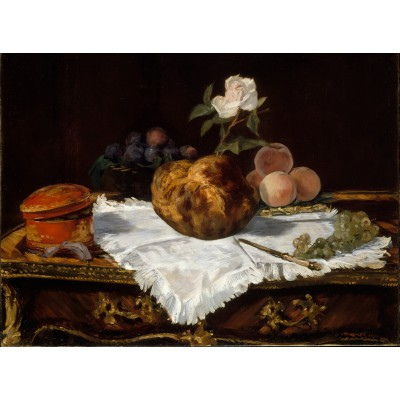 Puzzle Grafika-01126 Edouard Manet - The Brioche, 1870