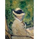 Puzzle  Grafika-01128 Edouard Manet - Madame Manet at Bellevue, 1880
