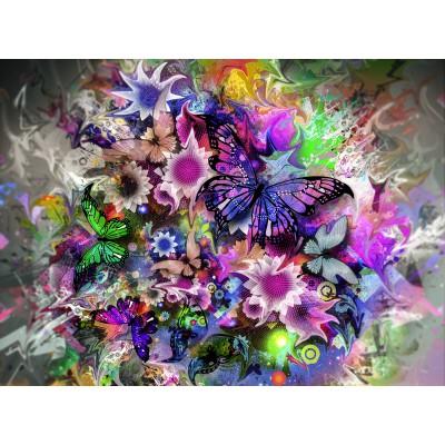Puzzle Grafika-01136 Butterflies
