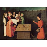 Puzzle  Grafika-01164 Bosch: The Conjurer, 1502