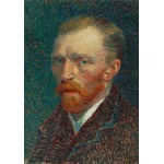 Puzzle  Grafika-01170 Vincent van Gogh: Self-Portrait, 1887