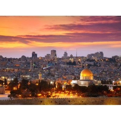 Puzzle Grafika-01182 Jerusalem