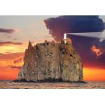 Puzzle  Grafika-01211 Stromboli Lighthouse, Italy