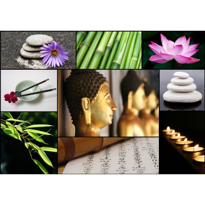 Puzzle Grafika-01219 Collage - Zen Atmosphere