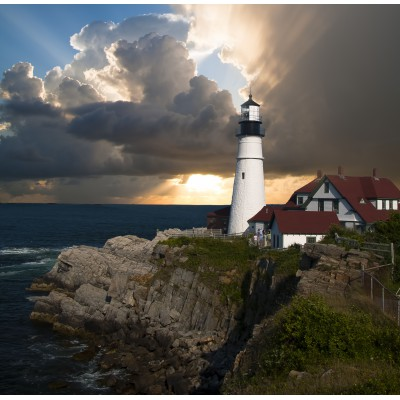 Puzzle Grafika-01257 Lighthouse