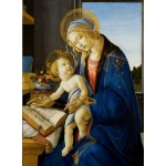 Puzzle  Grafika-01284 Sandro Botticelli: The Madonna of the Book, 1480