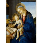 Puzzle  Grafika-01285 Sandro Botticelli: The Madonna of the Book, 1480